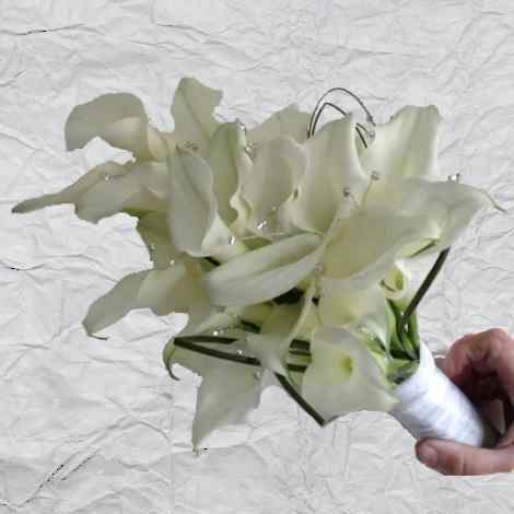 Flowers By Isabel Wedding Florist Over Arm Sheaf (Bride)