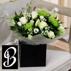 Flowers in Lanarkshire Blanche Elegance Bouquet