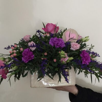 mothersday flowers free delivery pink purple rose lilly